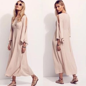 Free People Endless Summer Beige maxi dress
